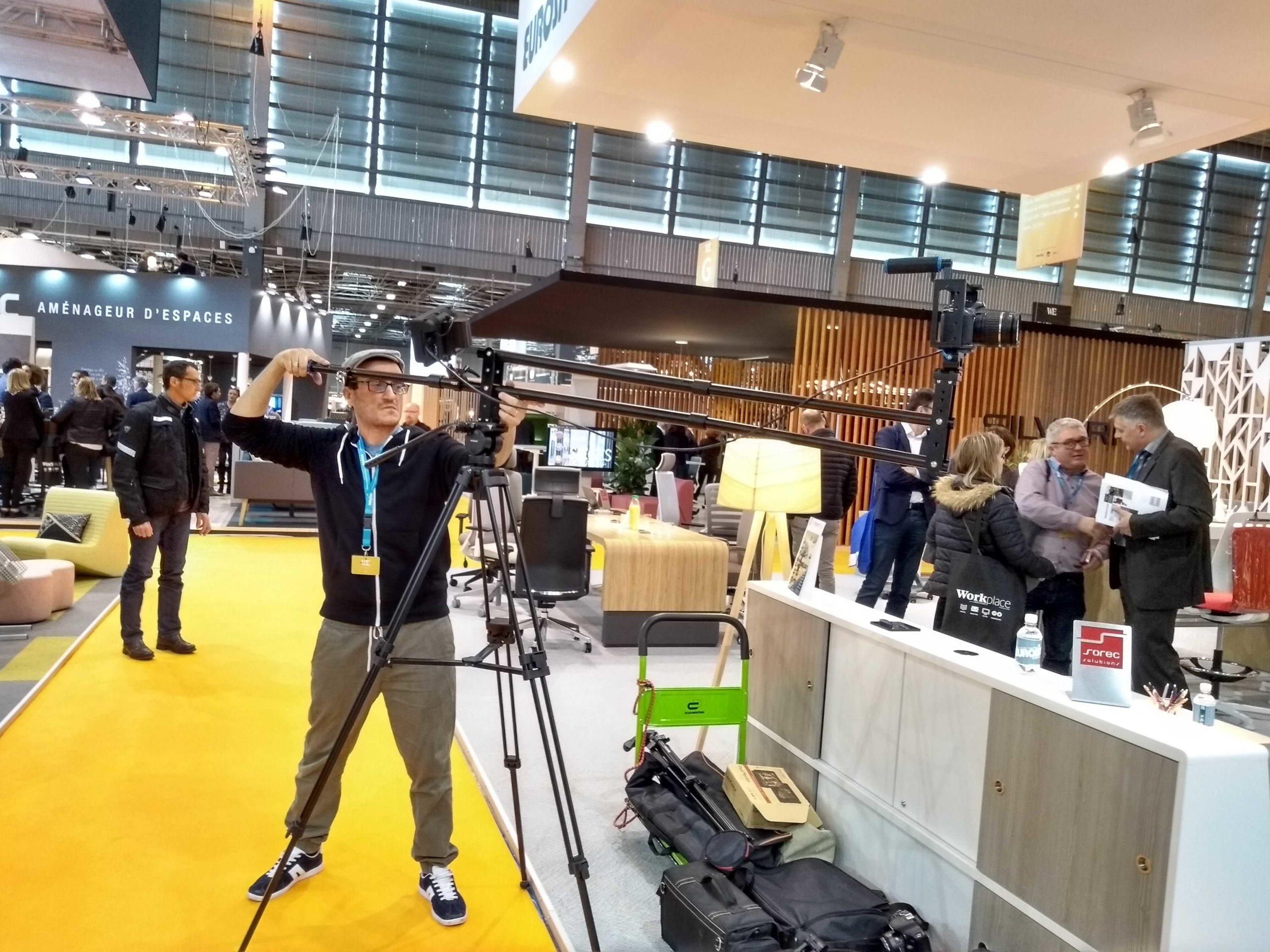 tournage film entreprise Paris