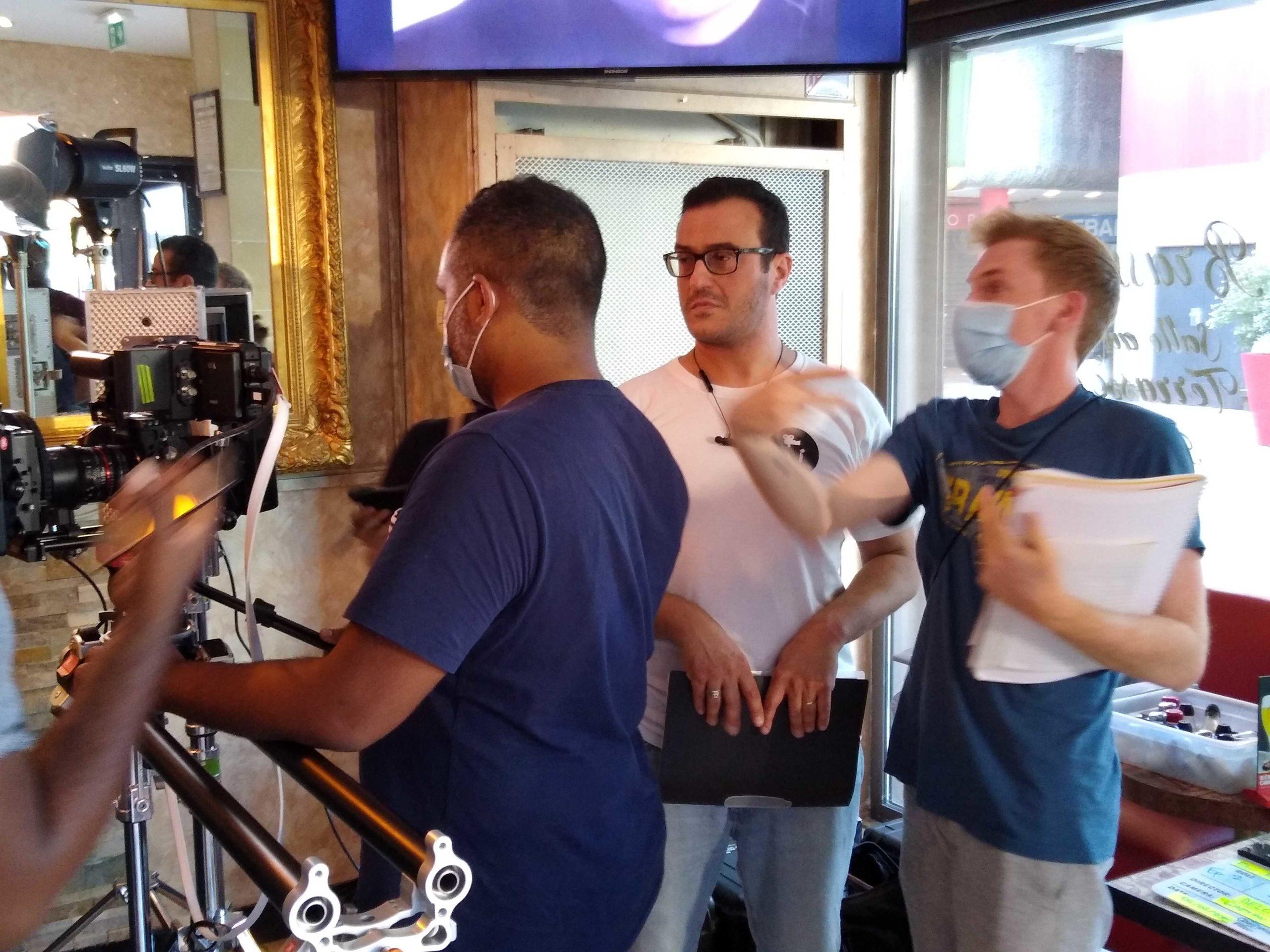 tournage clip paris