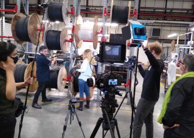 tournage de film insitutionnel à Paris